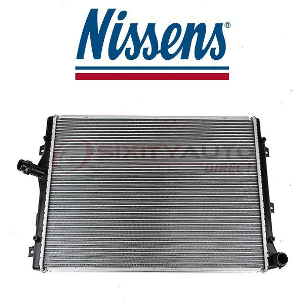 Cooler wa Nissens Front Radiator for 2006-2013 Volkswagen Passat 2.0L L4