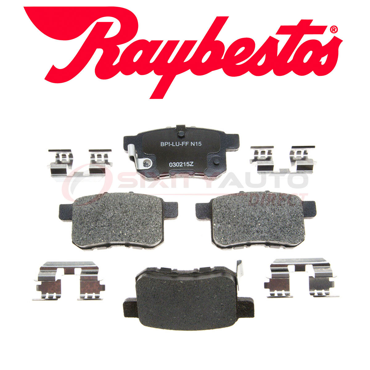 Raybestos Reliant Ceramic Disc Brake Pads For 2009-2014